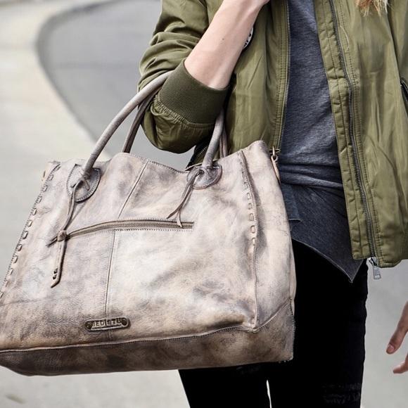 Bed Stu Handbags - BedStu Rockaway bag in taupe driftwood a8b73628d1bfa